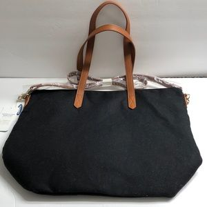 Old Navy Purse / Tote Black / Tan